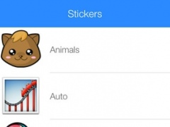 Stickers for WhatsApp, Messages, Facebook & Twitter Free Version 1.0 Screenshot