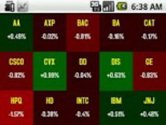 Stock Market Live Wallpaper 1.2 Screenshot