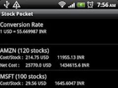 Stock Pocket 2.0.3 Screenshot