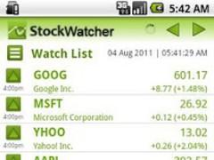 Stock Watcher 1.7.24 Screenshot