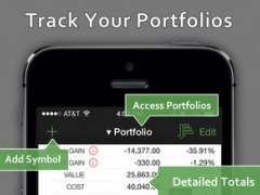 StockWatch - Portfolio Tracking and Stock Market Quotes 1.1.6 Screenshot