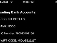 Stolen Phone Tracker: Bank Info Trap 1.3 Screenshot