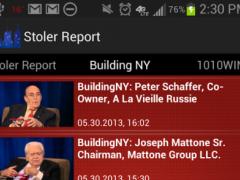 Stoler Report - New York City 1.4.0 Screenshot