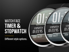 Stopwatch & Timer Watch Face 1.1 Screenshot