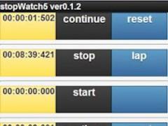 stopWatch5 0.1.3 Screenshot