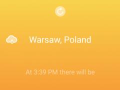 Stormy - Simple Weather App 1.0 Screenshot