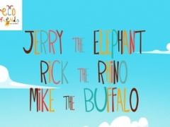 Storybook for Kids: Elephant, Rhino and Buffalo - The Fun Animal Adventure for Children 3, 4, 5 to 6 year old 1.0 Screenshot