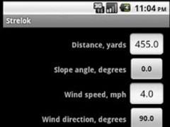 Strelok. Ballistic calculator 2.3.9 Screenshot