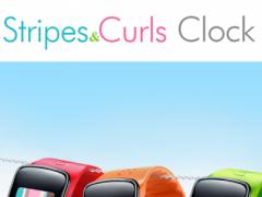 Stripes & Curls Gear Fit Clock 1.1.2 Screenshot