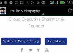 Strive Masiyiwa Blog 1.0 Screenshot
