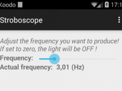 Stroboscope 1.0.1 Screenshot