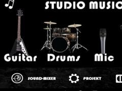 Studio music - garage band 1.0.4.2 Screenshot