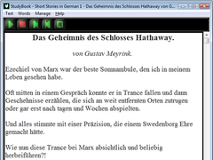 StudyBook German 1.3 Screenshot