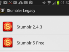 Stumbler Legacy Apps 2.0 Screenshot