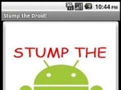 Stump the Droid 2.0 2.0 Screenshot