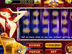 Stunning Lady of Poker Slot machine 1.0 Screenshot
