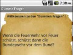 Stupid Questions 1.0 Screenshot