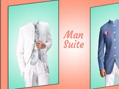 Stylish Man Suit Photo 2.0 Screenshot