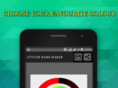Review Screenshot - Adding Style to Your Names