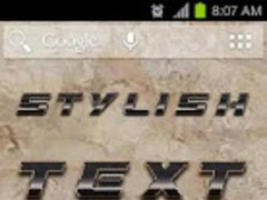 Stylish Text  Screenshot