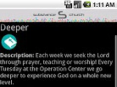 Substance Church 0.2.4 Screenshot