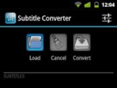 Subtitle converter 0.2.1 Screenshot