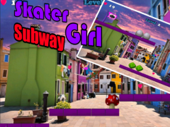 Subway Girl Skater 1.0 Screenshot