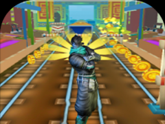 Subway Ninja Surfer Arashi 1.1 Screenshot