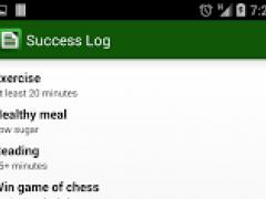 Success Log: Goal Tracker  Screenshot