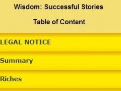 Success Story Wisdom 0.0.1 Screenshot