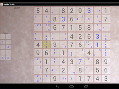 Sudoku 10,000 Trial 2.1.0 Screenshot