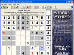 Sudoku Studio 1.5 Screenshot