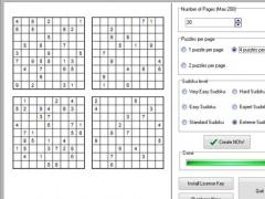 Sudoku2pdf Pro 2.62 Screenshot