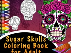 Sugar Skulls Coloring Book for Adult - Free Color Pages 1.0 Screenshot