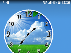 Sunny Spring Clock 3.0 Screenshot