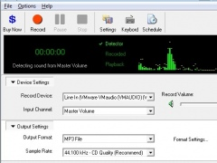 Super Audio Recorder 8.86 Screenshot