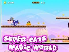Super Cats Magic World 1.0 Screenshot