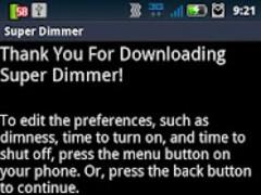 Super Dimmer 3.0 Screenshot