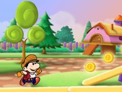 Super Mari Coins Run 1.1 Screenshot
