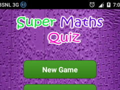 Super Maths Quiz 2.5 Screenshot