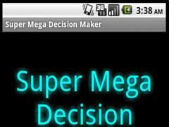 Super Mega Decision Maker 1.04 Screenshot