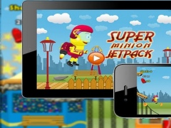 Super Minionites Jetpack - Theme Park, Shooting, Jumping, Running Free Top Games 1.0 Screenshot