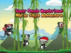Super Panda Wonderland: Ninja Style Adventure HD 1.1 Screenshot