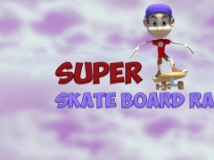 Super Skate Board Racing Mania - best flying mission arcade game 1.4 Screenshot