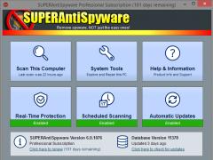 SUPERAntiSpyware Professional Edition 6.0.1240 Screenshot