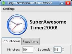 SuperAwesomeTimer2000 2000 Screenshot