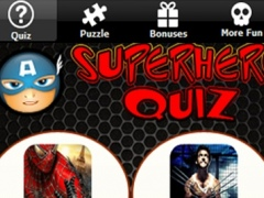 Superhero Quiz and Trivia PRO - Test your BIG Power Hero and Villain Movie IQ now! 3 Screenshot