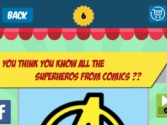 Superhero Quiz - Guess Superhero,Villain from Icon 1.0 Screenshot