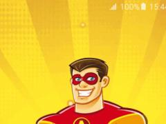 Superheroes Live Wallpapers 1.0 Screenshot