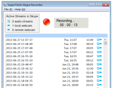 SuperTintin Skype Video Call Recorder 1.2.0.32 Screenshot